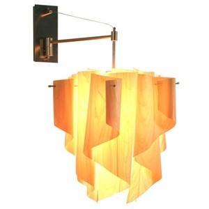 ディクラッセ ブラケットライト Auro-wood 100W 白熱普通球 E26口金 壁面取付専用 LB6100WO