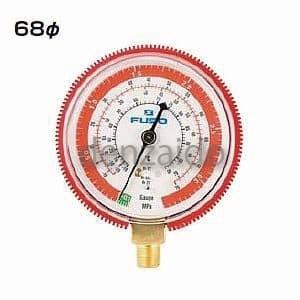 FUSO 68Φ高圧ゲージ R22 NEW ARRIVAL FS-712BH R502 デポー R12