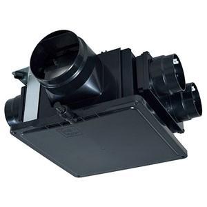 三菱 ダクト用換気扇 中間取付形ダクトファン 排気専用 大風量タイプ 低騒音形 4〜6部屋換気用 接続パイプ排気口φ150mm・吸込口φ100mm V-18MPSX3