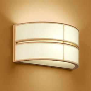 オーデリック LED和風ブラケットライト 白熱灯60W相当 電球色 OB018244LD OB018244LD