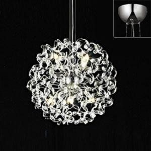 オーデリック LEDシャンデリア METAL LUX 白熱灯40W×8灯相当 電球色 調光タイプ 電動昇降装置対応 OC257006LC