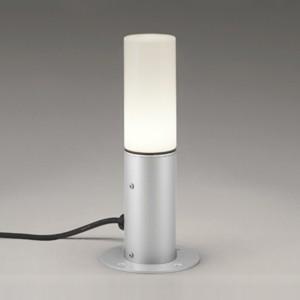 オーデリック LEDガーデンライト 防雨型 置型タイプ 白熱灯60W相当 白熱灯60W相当 電球色 マットシルバー OG254423LD