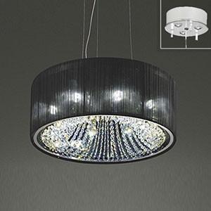 オーデリック LEDシャンデリア 白熱灯40W×8灯相当 電球色 調光タイプ 電動昇降装置対応 OC257042LC