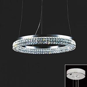 オーデリック LED一体型シャンデリア 〜4.5畳用 電球色 調光タイプ リモコン付 OC257012P1