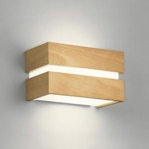 オーデリック LEDブラケットライト 密閉型 白熱灯60W相当 電球色 調光タイプ ナチュラル ナチュラル OB080968LC