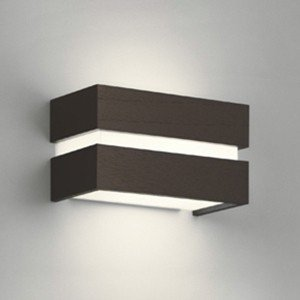オーデリック LEDブラケットライト 密閉型 白熱灯60W相当 電球色 電球色 調光タイプ エボニーブラウン OB080969LC