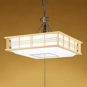オーデリック LED和風ペンダントライト 〜8畳用 電球色〜昼光色 調光・調色タイプ リモコン付 OP252391