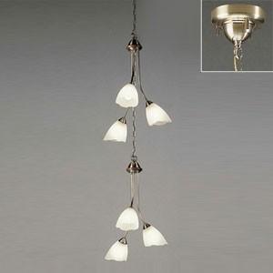 オーデリック LEDシャンデリア 白熱灯100W×6灯相当 電球色⇔昼白色 光色切替調光タイプ 電動昇降装置対応 OC079265PC