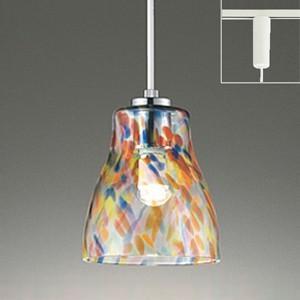 オーデリック LEDペンダントライト made in NIPPON ライティングレール取付専用 白熱灯40W相当 電球色 OP252423LD