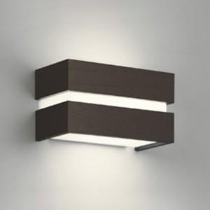 オーデリック LEDブラケットライト 密閉型 白熱灯60W相当 白熱灯60W相当 電球色⇔昼白色 光色切替調光タイプ エボニーブラウン OB080969PC