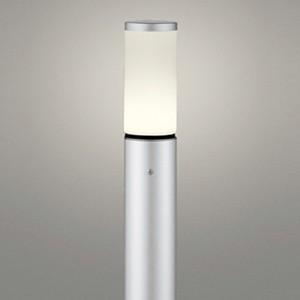 オーデリック LEDガーデンライト 防雨型 防雨型 白熱灯60W相当 電球色 地上高1000mm マットシルバー OG254654LD