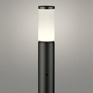 オーデリック LEDガーデンライト 防雨型 白熱灯60W相当 白熱灯60W相当 電球色 明暗センサー付 地上高700mm 黒 OG254657LD