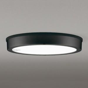 オーデリック LEDシーリングダウンライト FLATPLATE 防雨型 軒下取付専用 FCL30W相当 電球色 人感センサ付 ブラック OG254816