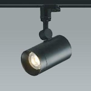 コイズミ照明 LED一体型スポットライト ライティングレール取付タイプ 調光タイプ 白熱球100W相当 電球色 拡散タイプ 黒色 AS38216L