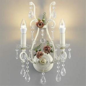 コイズミ照明 LEDブラケットライト ロザーチェ LEDランプ交換可能型 白熱球40W×2灯相当 電球色 5.0W×2灯 口金E17 AB40902L