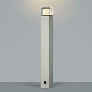 コイズミ照明 LED一体型ガーデンライト 防雨型 高さ747mm 白熱球60W相当 電球色 ウォームシルバー AU42271L