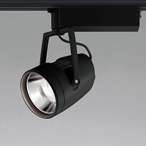 コイズミ照明 コイズミ照明 LED一体型スポットライト ライティングレール取付タイプ HID70W相当 3500lmクラス 温白色 照度角50° ブラック XS45973L