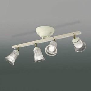 コイズミ照明 LEDシャンデリア 白熱球60W×4灯相当 電球色 リモコン付 AA47245L