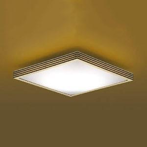 コイズミ照明 LED和風シーリングライト 煌籠 〜8畳用 電球色〜昼光色 調光・調色タイプ リモコン付 ウェンゲ AH48738L