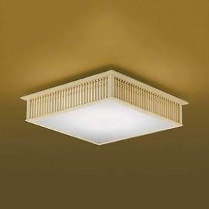 コイズミ照明 LED和風シーリングライト 千山格子 〜12畳用 電球色〜昼光色 調光・調色タイプ リモコン付 AH48749L