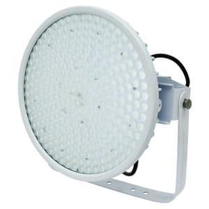 日動工業 LED投光器 ハイディスク300W 高効率 水銀灯1000W相当 昼白色 電源装置一体型 スポット 電線ポッキンプラグ5m付 クリア L300V2-D-HS-50K