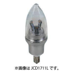販売終了 エスティーイー ケース販売 12個セット LED電球 デコキャンドル クラウン クラシック 調光タイプ 電球色 E12 JCD1211L_set