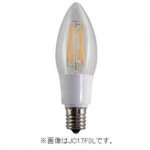 販売終了 エスティーイー ケース販売 12個セット LED電球 デコフィラメント キャンドル 電球色 E14 JC14F3L_set