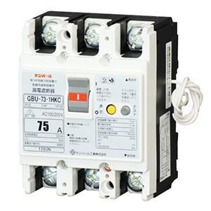 テンパール工業 漏電遮断器 3P2E75AF 75A 単3中性線欠相保護機能付 U7301HKC7530