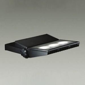 DAIKO LEDウォールスポットライト COBタイプ メタルハライドランプ250W相当 非調光タイプ フランジ別売 昼白色 ブラック LZW-91344WB