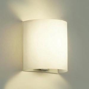 DAIKO LEDブラケットライト 電球色 非調光タイプ 白熱灯60Wタイプ 壁面取付専用 人感センサー付 DBK-38342Y DBK-38342Y