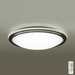 DAIKO DAIKO LEDシーリングライト 〜10畳用 プルレス調色・調光タイプ(昼光色〜電球色) 51W タイマー付リモコン付属 ダークブラウン DCL-39209