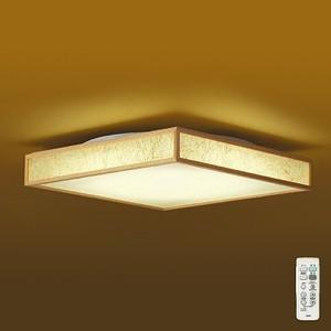DAIKO LED和風シーリングライト 〜10畳用 調色・調光タイプ(昼光色〜電球色) クイック取付式 リモコン・プルレススイッチ付 DCL-39399
