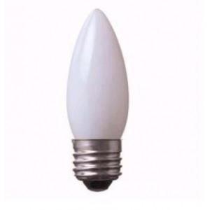 アサヒ 100個セット シャンデリアランプ C32 C32 110V10W 全光束:55lm 口金:E26 ホワイト C32 E26 110V-10W(S)_100set