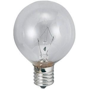 アサヒ 100個セット ボール球 G50 105V60W 全光束:720lm 口金:E17 クリヤー G50 E17 100/110V-60W(C)_100set