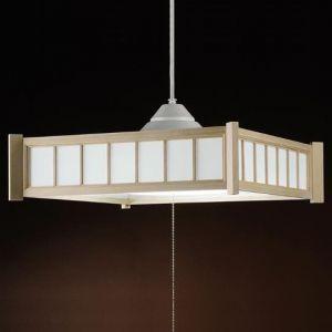 アグレッド 和風LEDペンダントライト 〜8畳用 プルスイッチ式 昼白色 全光束:4000lm AP382JN|dendenichiba