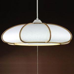 アグレッド 和風LEDペンダントライト 〜8畳用 プルスイッチ式 昼白色 全光束:4000lm AP383JN dendenichiba
