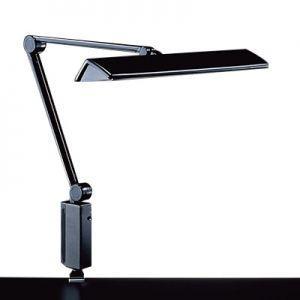 生産完了品 山田照明 スタンドライト クランプ式 直管蛍光灯FL15形(昼白色)×2 ブラック ブラック Zライト Z-309B