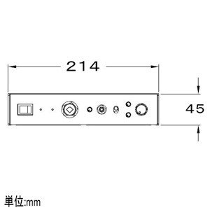 BOSE コンパクトミキサーパワーアンプ 50W×2 ハイインピーダンスタイプ IZA190-HZ dendenichiba 03