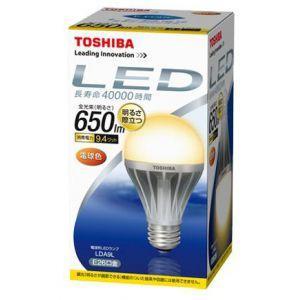 生産完了品 東芝 ケース販売 10個セット LED電球 E-CORE イー・コア 一般電球形 50W形相当 全光束650lm 電球色 E26口金 LDA9L_set