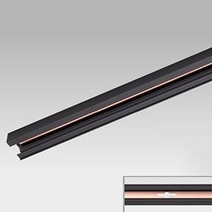 東芝 ケース販売 10本セット 接地極付ライティングレール VI形 長さ1m 黒 NDR0211EK_set