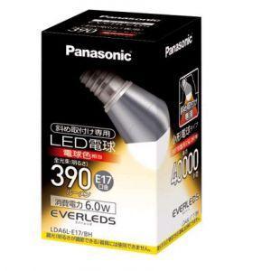 パナソニック ケース販売 10個セット LED電球 エバーレッズ 小形電球タイプ 斜め取付け専用 25W形相当 電球色相当 E17口金 LDA6L-E17/BH_set