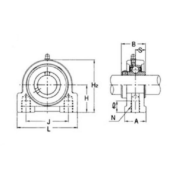 旭精工 ステンレスシリーズピロー形ユニット MUCPA206VN,Y (カバーなし) (カバーなし) (カバーなし) de3