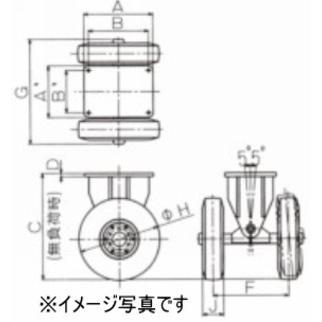佐野車輌製作所 キャスター 286-2