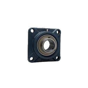 FYH 日本ピローブロック UCF317D 角フランジ形ユニット 円筒穴・鋼板カバー付き(一端密閉形)