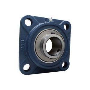 FYH 日本ピローブロック UCFS312C 印ろう付き角フランジ形ユニット 円筒穴・鋳鉄カバー付き(貫通形)