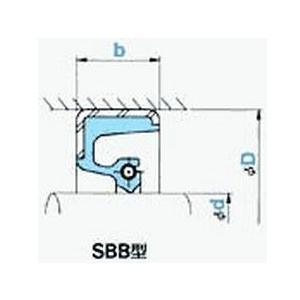 NOK オイルシール SBB52056020 (AB6166A0) SBB型