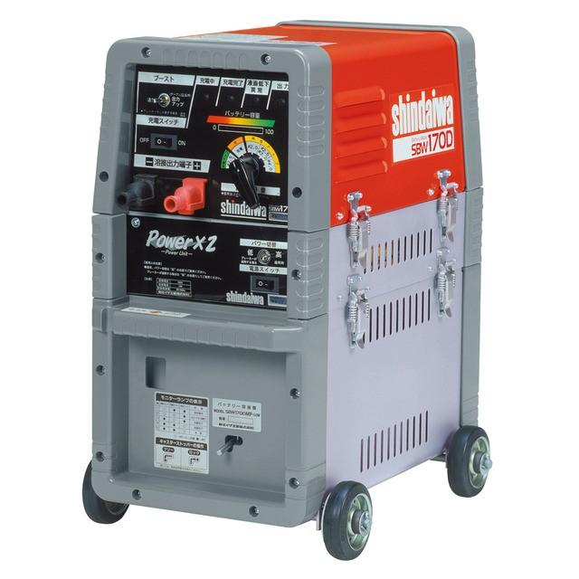 新ダイワ バッテリー溶接機 SBW170D-MFP 個人宅不可 代引不可 (北海道・沖縄・離島は、別途運賃お見積り必要)