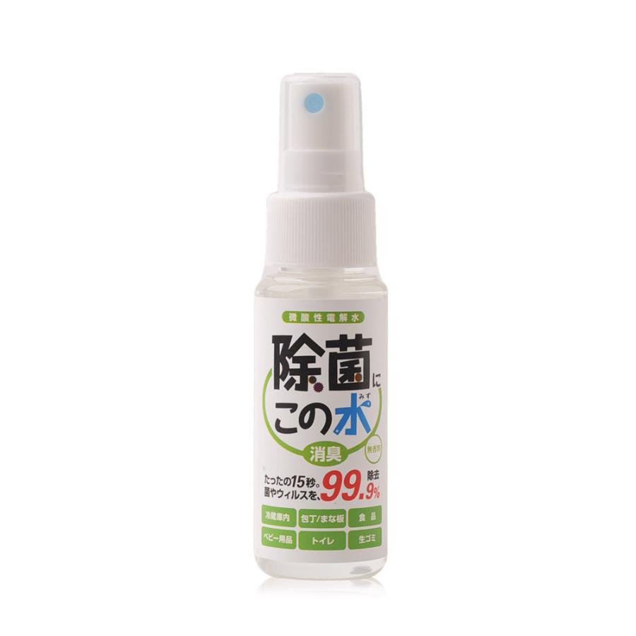 微酸性電解水「除菌に・この水」携帯用50ml|denkaisuishop