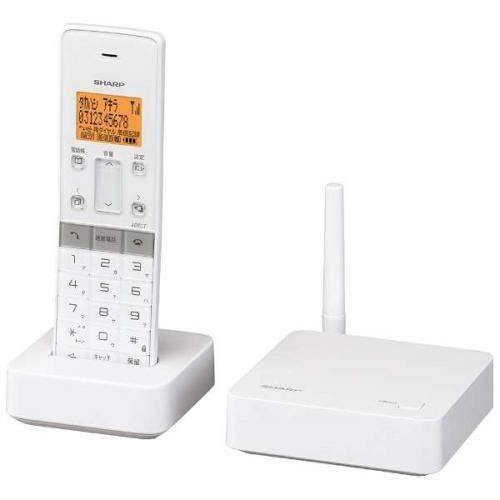 コードレス 電話機 シャープ 【楽天市場】シャープ デジタルコードレス電話機(受話子機+子機1台タイプ)