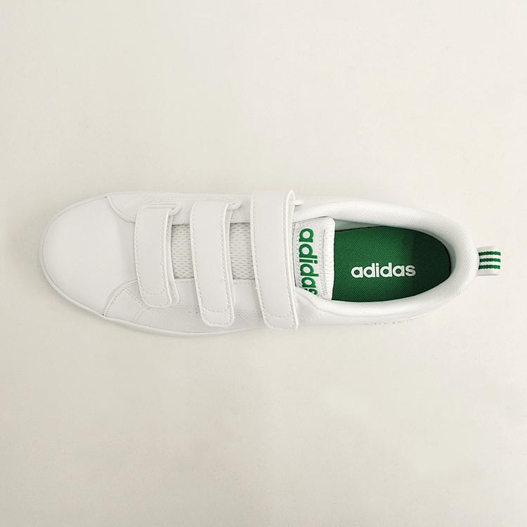アディダス バルクリーン2 CMF ベルクロ スニーカー メンズ ホワイト/グリーン 白 adidas VS ADVANTAGE CLEAN CMF AW5210 denpcy 12